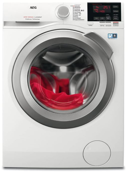 AEG L6FB67490 Waschmaschine (9 kg, Mengenautomatik, AquaControl, 1400 U/min) ab 419,30€ (statt 582€)