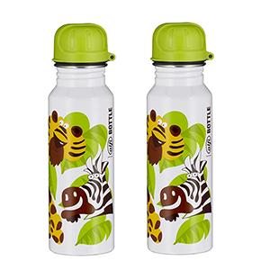 Doppelpack alfi Edelstahl Trinkflasche (600 ml) im Dschungel-Design für nur 9,99€ (statt 30€)