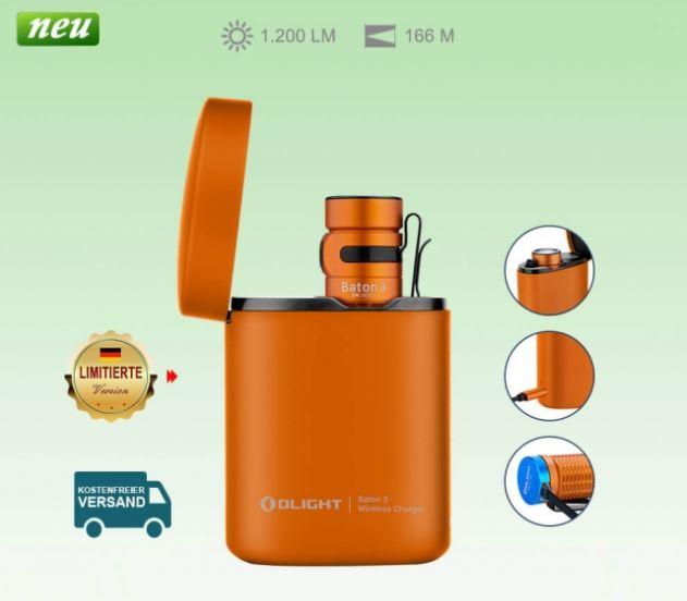 Olight Baton 3 Kit Orange