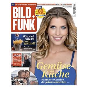 Jahresabo (52 Ausgaben) BILD + FUNK für 130€ – als Prämie: 110€ Verrechnungsscheck