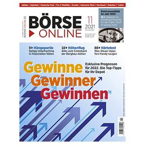 6 Monate (25 Ausgaben) BÖRSE ONLINE für 135€ – als Prämie: 80€ BestChoice-Gutschein
