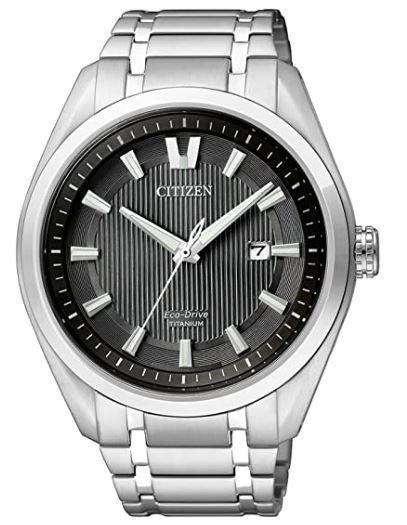 Citizen AW1240-57E Solar Titanium Analog Quartz Armbanduhr für nur 137,10€ inkl. Versand (statt 174€)