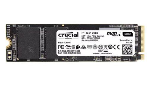 Crucial P1 500 GB SSD (intern) für nur 49€ Euro inkl. Versand