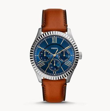 Fossil FS5634 Chapman Herren Armbanduhr Leder