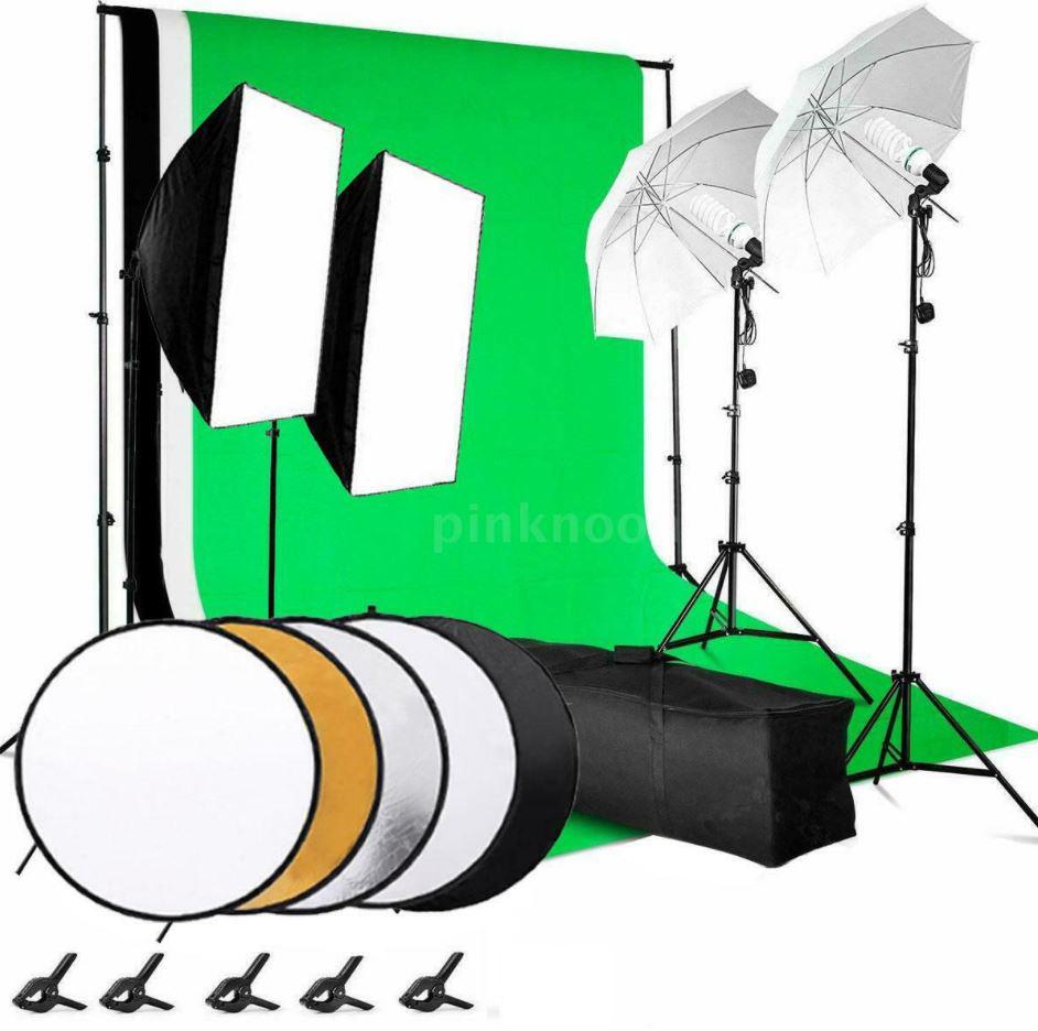 Andoer Fotostudio Set (31 Teile) mit u.a. Softboxen & Reflektoren für nur 95,89€ inkl. Versand