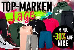 Großer Nike Sale bei geomix mit über 500 Artikeln und mindestens 30% Rabatt