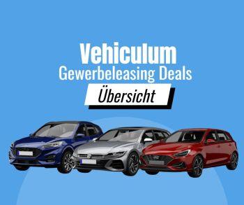 Aktuelle Gewerbeleasing Deals bei Vehiculum