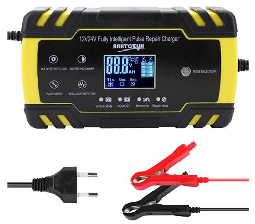KKmoon KFZ Batterieladegerät (12V/24V) für nur 20,87€