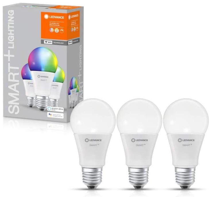 3er Pack LEDVANCE Smarte LED-Lampe E27