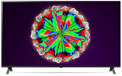 LG 65NANO806NA Smart TV (65 Zoll, 4K, NanoCell, Active HDR, 50 Hz) – Modelljahr 2020 für nur 699€ (statt 837€)
