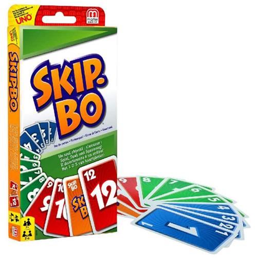 Mattel Skip-Bo für nur 6,50€ (statt 11€)