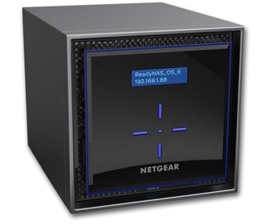 Nur heute: Netgear ReadyNAS 424 Diskless NAS 4-bay (2x GB-LAN) für nur 249€ inkl. Versand