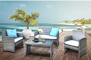 HTI-Line Sitzgruppe »Terrassenmöbel Zypern«