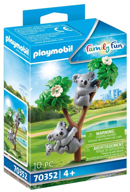 PLAYMOBIL 70352 - 2 Koalas mit Baby