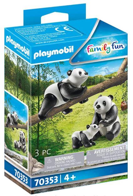 PLAYMOBIL 70353 - 2 Pandas mit Baby