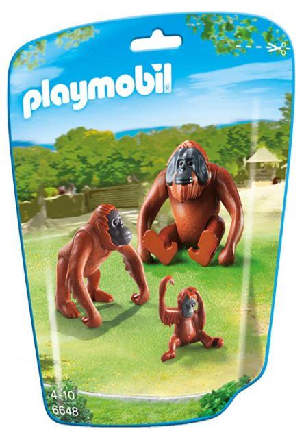 Playmobil 6648 - 2 Orang-Utans mit Baby