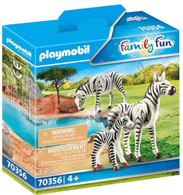 PLAYMOBIL 70356 - 2 Zebras mit Baby