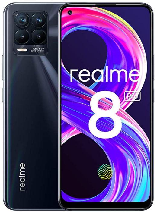 realme 8 Pro (6.4 Zoll Super AMOLED,108 MP, 4500 mAh, Dual Sim, NFC, 6GB RAM, 128GB) für nur 259€