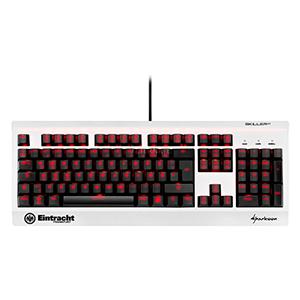 Sharkoon SKILLER MECH SGK3 Gaming-Tastatur in der Eintracht Frankfurt Sonderedition nur 66,98€