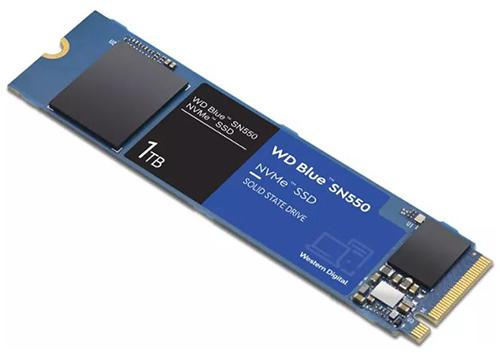 WD Blue SN550 M.2 NVMe SSD (1 TB) für nur 88€ inkl. Versand (statt 96€)