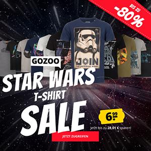 Top! GOZOO x Star Wars Sale bei SportSpar – Coole Storm Trooper Shirts für 6,99€ inkl. Versand