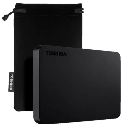 TOSHIBA Canvio Basics Exclusive (2.5 Zoll, 2 TB) für nur 59€ inkl. Versand (statt 74€)
