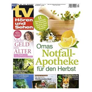 TV Hören und Sehen Jahresabo für 130€ – Prämie: 105€ Verrechnungsscheck