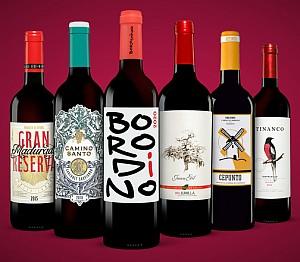 Vinos Rotwein Paket – 6 exklusive Rotweine für 24,99€ (statt 55€)