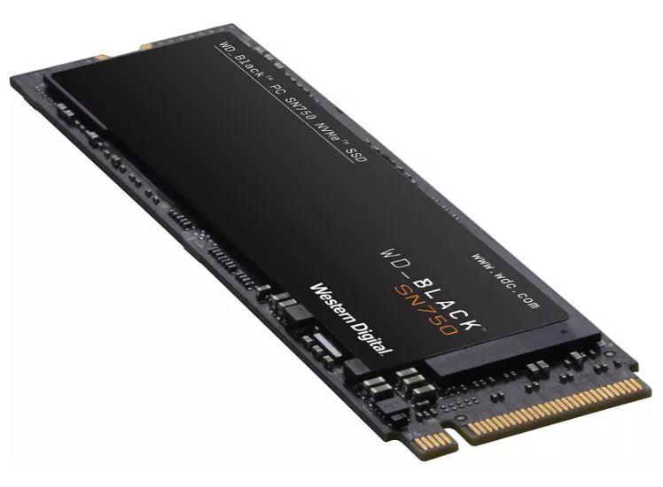 WD BLACK SN750 NVMe 500 GB SSD für nur 58,99€ inkl. Versand