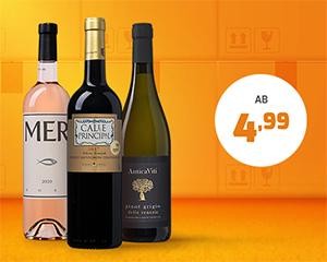 Beim Kauf von 2 Kisten: 25% Extra-Rabatt auf ausgewählte Weine bei Weinvorteil