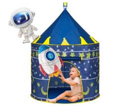 Kinder Spielzelt mit 2 Raumschiff Luftballons für 13,79€