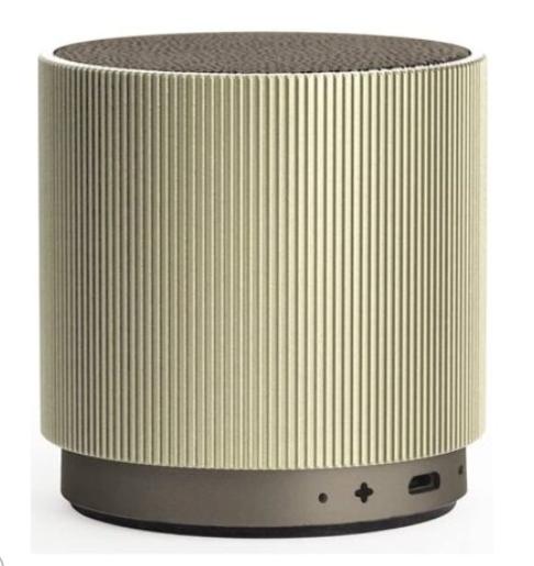 Lexon LA98D Fine wiederaufladbarer 4.0 Bluetooth Lautsprecher gold für nur 24,95€ inkl. Versand