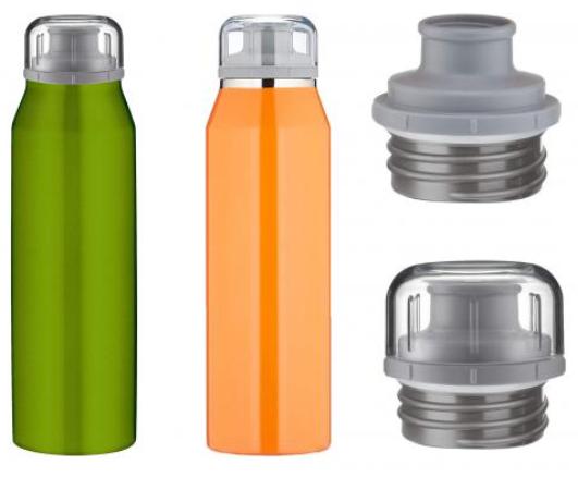 2 Stück alfi Premium Isoliertrinkflasche 500ml aus Edelstahl – auslaufsicher, 12 Stunden heiß oder 24 Stunden kalt für nur 19,98€ inkl. Versand