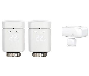 2er-Pack Eve Thermo – Smartes Heizkörperthermostat + Door & Window Kontakt für nur 99,90€ (statt 165€)