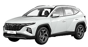 Privatleasing: Hyundai Tucson Plug-In Hybrid (265 PS) in Polar White für 209€ mtl. – LF: 0,45