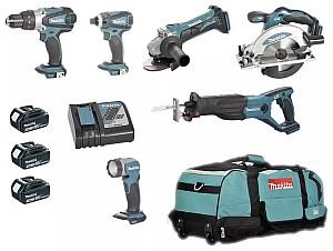 Makita Akku-Werkzeugset DLX6011 mit diversen Geräten (11-teilig) für 593,87€ inkl. Versand (statt 697€)