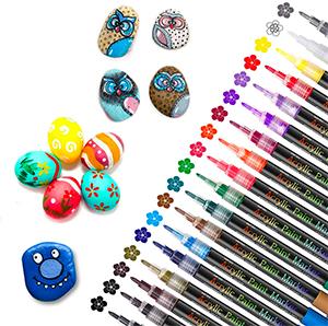 18er-Pack SAWAKE Acrylstifte für Steine nur 12,34€ inkl. Prime-Versand