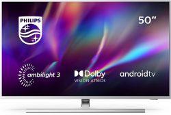 50″ Philips Ambilight 50PUS8505/12 4K UHD LED-TV mit Ambilight für 479€