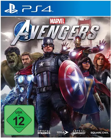 Marvel's Avengers (kostenloses Upgrade auf PS5) - (PlayStation 4)