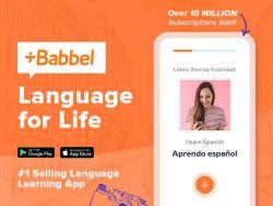 Knaller: Sprachen lernen: Babbel – Lifetime Zugang für 14 Sprachen für einmalig 170,27€ (statt 427€)