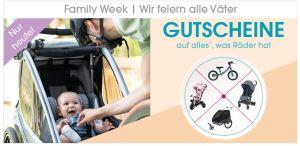 Nur heute: 10%/ 12% Rabatt auf alles mit Rädern im Babymarkt Online-Shop bzw. in der App