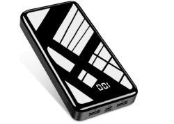 Bextoo PC3 Power Bank mit 30000mAh, 3x USB und USB-C für 19,77€