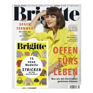 Knaller! Schnupperabo mit 6 Ausgaben Brigitte für 24€ – als Prämie: 25€ Amazon Gutschein