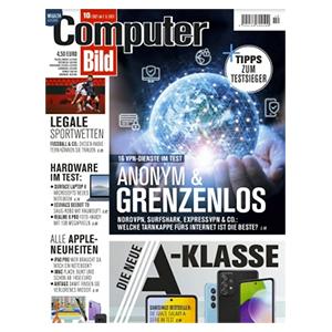 Top! Jahresabo Computer Bild mit DVD für 159,90€ – als Prämie: 160€ BestChoice-Gutschein