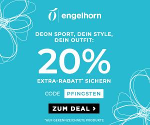 20% Rabatt auf viele ausgewählte Styles im Engelhorn Onlineshop