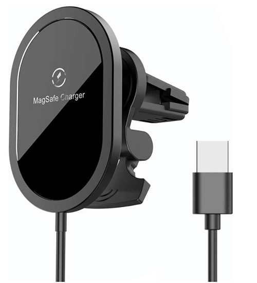 Festnight X439 Car Wireless Charger (15W, Magsafe kompatibel) für nur 13,99€
