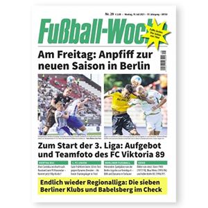 3 Monate (12 Ausgaben) der Zeitschrift Fußball Woche für 36€ – Prämie: 35€ BestChoice Gutschein
