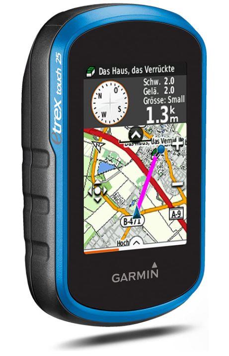 Garmin eTrex Touch 25 Navigation mit Fahrradhalterung für nur 145,90€ inkl. Versand (statt 162€)