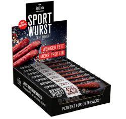 Grillido Sportwurst Original 25er Pack – proteinreiche Power Salami für 16,99€ bei Amazon (oder 16,14€ im Sparabo)