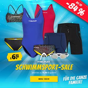 HEAD Schwimmsport-Sale bei SportSpar mit bis zu 84% Rabatt – versandkostenfrei!